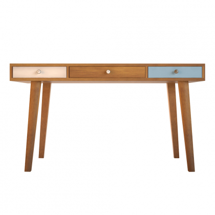 """Рабочий стол """"Aquarelle Birch"""" с тремя ящиками"""