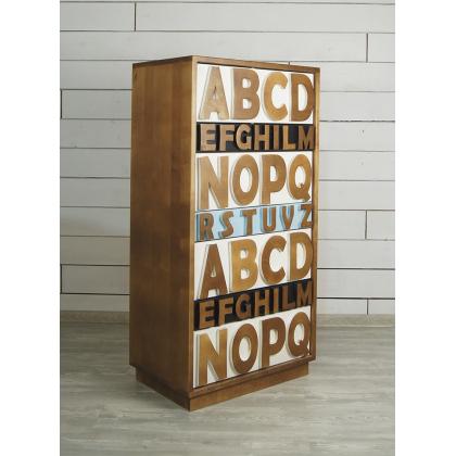 """Комод """"Alphabeto Birch 4"""""""