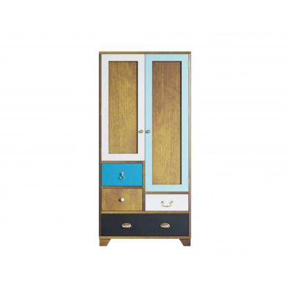"""Шкаф """"Aquarelle"""" двухдверный с ящиками"""