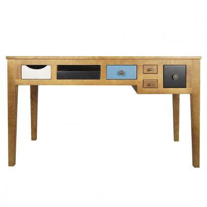 """Рабочий стол """"Aquarelle Birch"""" темный"""