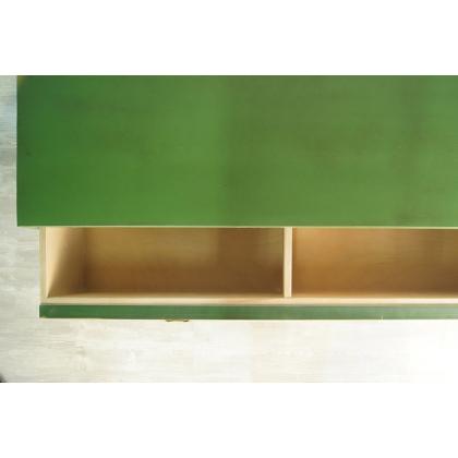 """Большой зеленый комод """"Emerald"""""""