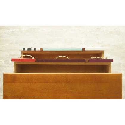 Вертикальный комод Gouache Birch (2 ящика)