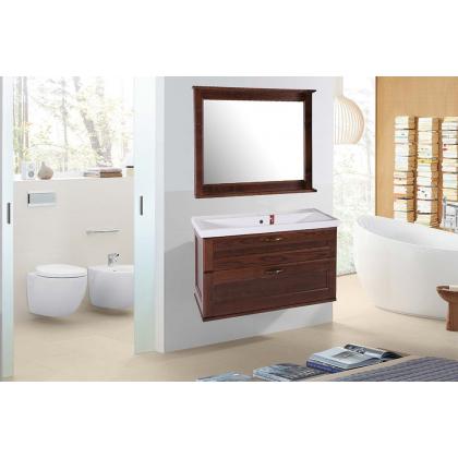 Мебель для ванной Прато 100 (Антикварный орех)