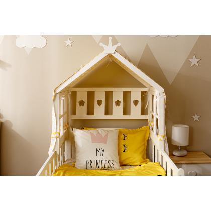 Кровать домик Тимберика кидс №1 Корона