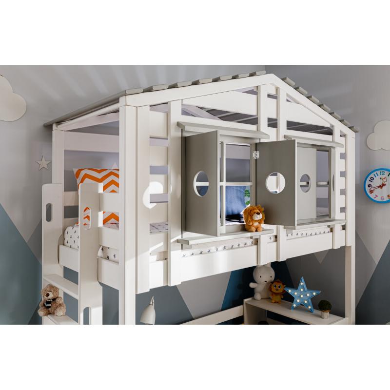 Кровать-домик В-яр Тимберика Кидс №12