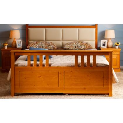 Кровать мягкая с ящиками Дания 3 двуспальная