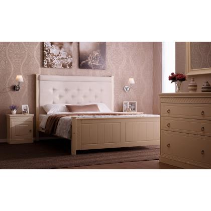 Кровать мягкая с ящиками Дания 4 двуспальная