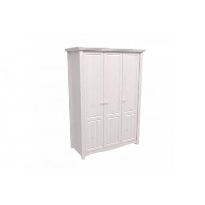 Шкаф 3-х дверный Милано белый воск