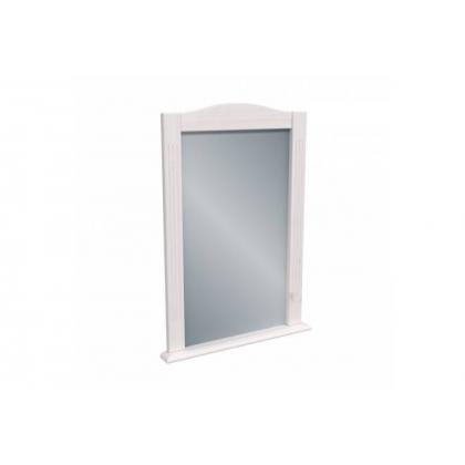 Зеркало Милано белый воск