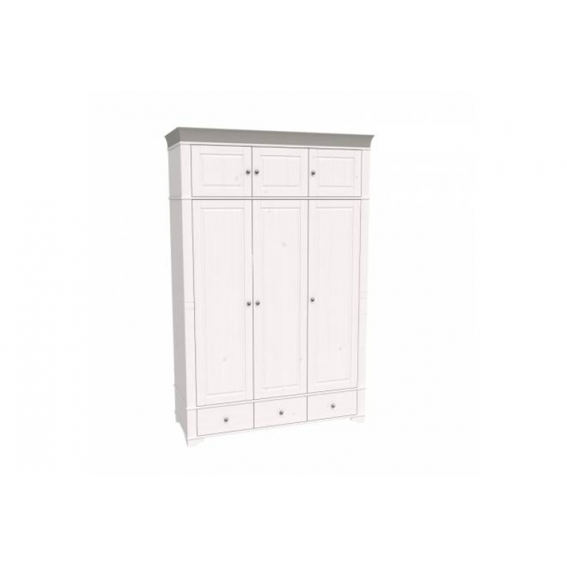 Антресоль 3-х дверного шкафа Бейли