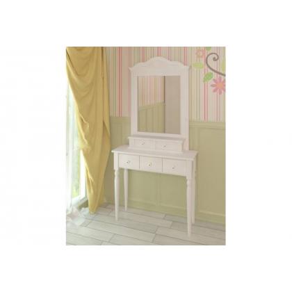Стол туалетный Консолеа белый воск