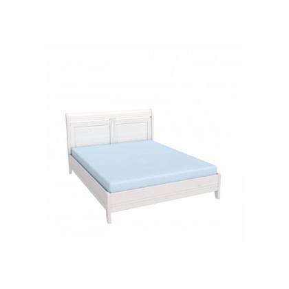 Кровать Бейли без изножья 160х200 белый воск