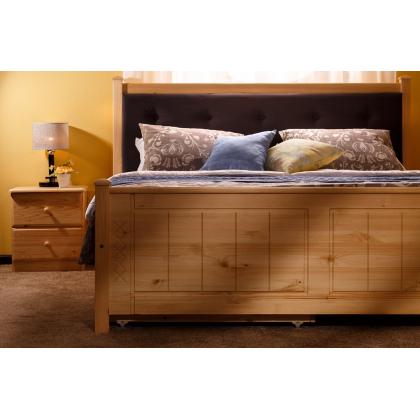 Кровать мягкая с ящиками Дания 1 двуспальная
