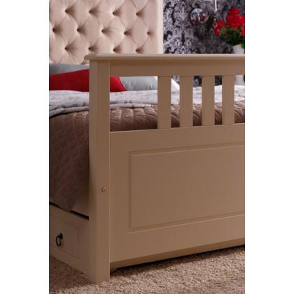 Кровать мягкая с ящиками Дания 2 двуспальная