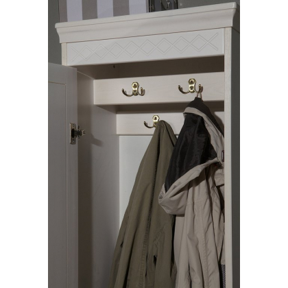 Шкаф для прихожей 1-створчатый Дания