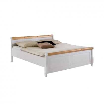 """Кровать """"Мальта"""" 140х220 без ящиков из массива сосны"""
