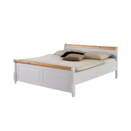 """Кровать """"Мальта"""" 140 без ящиков из массива сосны"""