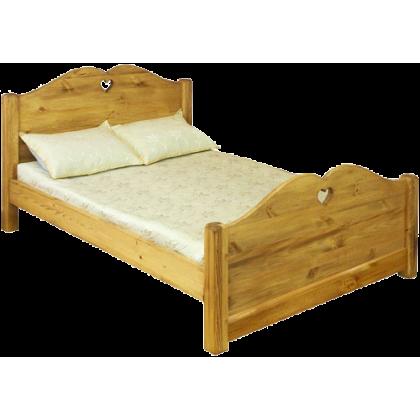 Кровать LIT COEUR (с сердцем - высокое изножье)