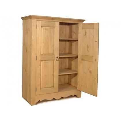 Шкаф для белья ARMOIRETTE 2 P   2 двери,  3 фиксированные полки .