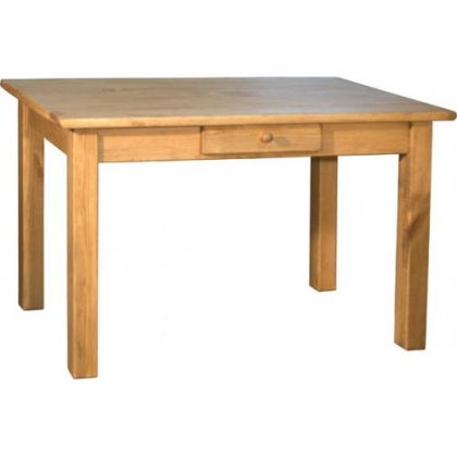 Стол кухонный TABLE DE CUISINE 120 T 120х70 с ящиком ноги 70х70