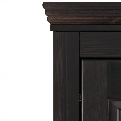 """Шкаф для одежды """"Рауна"""" 20 (колониал)"""