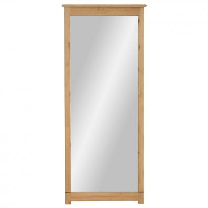 """Зеркало навесное в раме """"Рауна"""" 200 (бейц/масло)"""