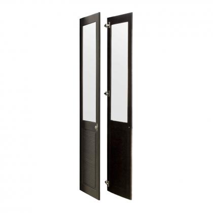 """Комплект дверей к стеллажу """"Рауна"""" 20 (колониал) из массива сосны"""
