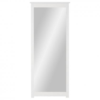 """Зеркало навесное в раме """"Рауна"""" 200 (белый воск УКВ)"""