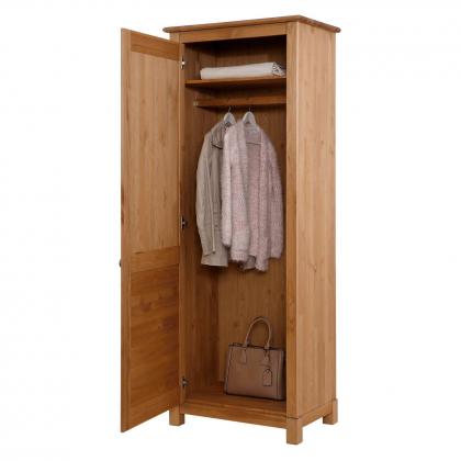 """Шкаф для одежды """"Рауна"""" 100 (бейц/масло)"""