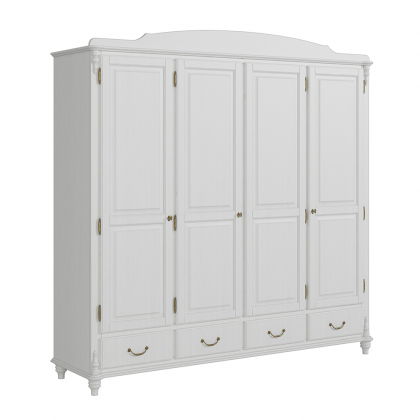 Шкаф 4-х створчатый с ящиками (Скандия)