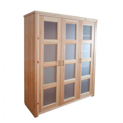 Шкаф 3-х створчатый (Ярви)