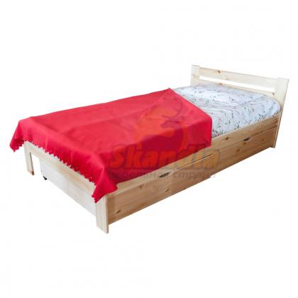 Кровать односпальная Т-10 Эконом (Дачная Классика)