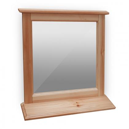 Зеркало для туалетного стола с полкой (Брусно)
