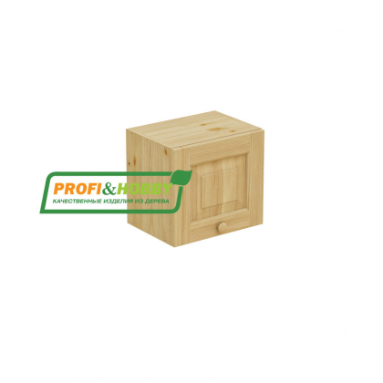 Шкаф навесной 400 х 300 х 360, сосна, бесцветный лак
