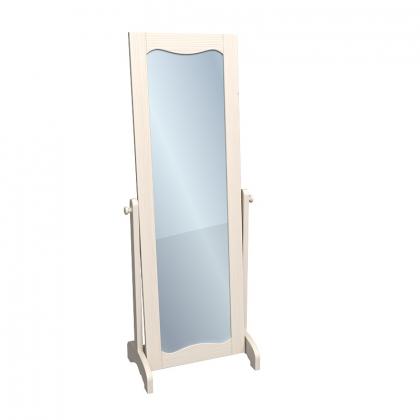 Зеркало напольное ЛеБо бежевый воск