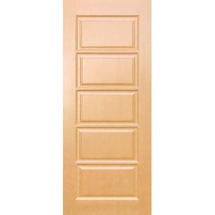 Межкомнатная дверь Лесенка М9, глухая, цвет 5% орех, массив сосны