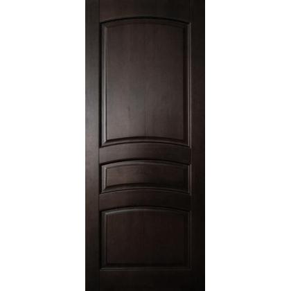 Межкомнатная дверь Вероника М16, глухая, цвет Венге, массив сосны - с сучками