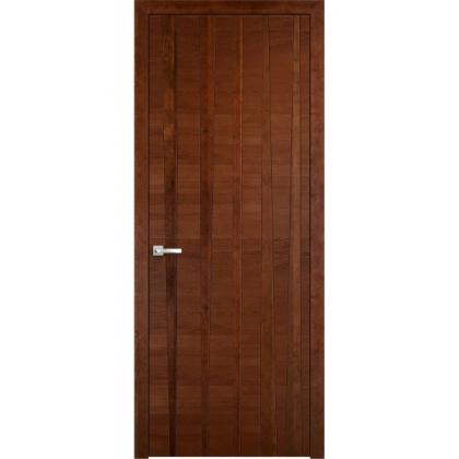 Межкомнатная дверь Bandy, глухая - цвет 10% орех - массив дуба