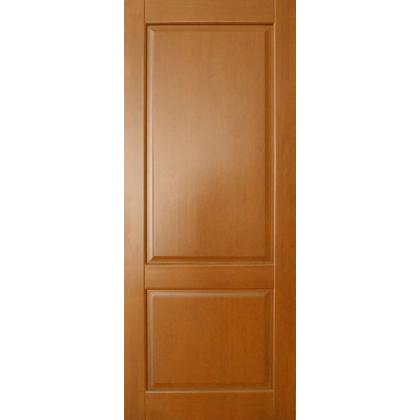 Межкомнатная дверь Елена М13, глухая, цвет 10% орех, массив сосны
