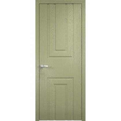 Межкомнатная дверь Portal, глухая - цвет Седой - массив дуба