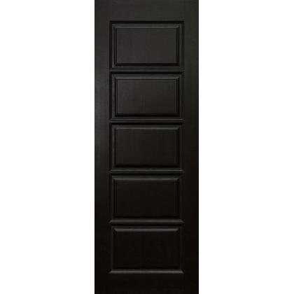 Межкомнатная дверь Лесенка М9, глухая, цвет Венге, массив сосны