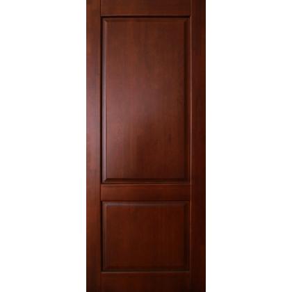 Межкомнатная дверь Елена М13, глухая, цвет 15% орех, массив сосны