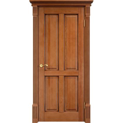 Межкомнатная дверь М15, цвет 10% орех, массив сосны