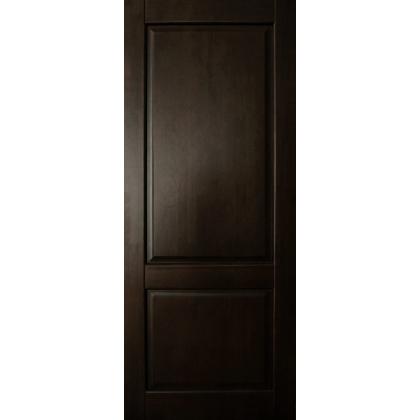 Межкомнатная дверь Елена М13, глухая, цвет Венге, массив сосны