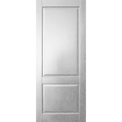 Межкомнатная дверь Елена М13, глухая, цвет Белая эмаль, массив сосны