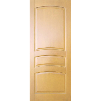 Межкомнатная дверь Вероника М16, глухая, цвет 5% орех, массив сосны - с сучками