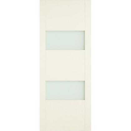 Межкомнатная дверь ОЛ. М77, с остеклением, массив ольхи