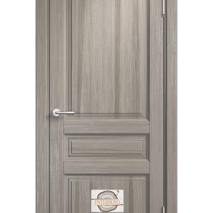 Межкомнатная дверь Марика М5, глухая, цвет Венге, массив сосны
