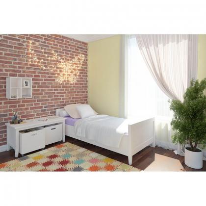 """Кровать """"Сиело"""" 77323 (120x200) из массива сосны"""