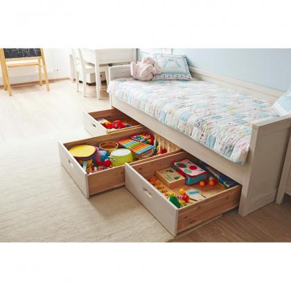 """Кровать-диван """"Сиело"""" 77325 (90x200) из массива сосны"""